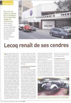 LECOQ RENAIT DE SES CENDRES - 2007